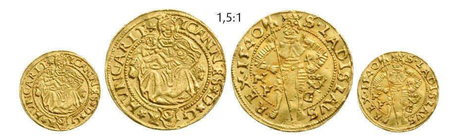 Ducat 1540, Hermannstadt (Sibiu), Gold, 3,52 g