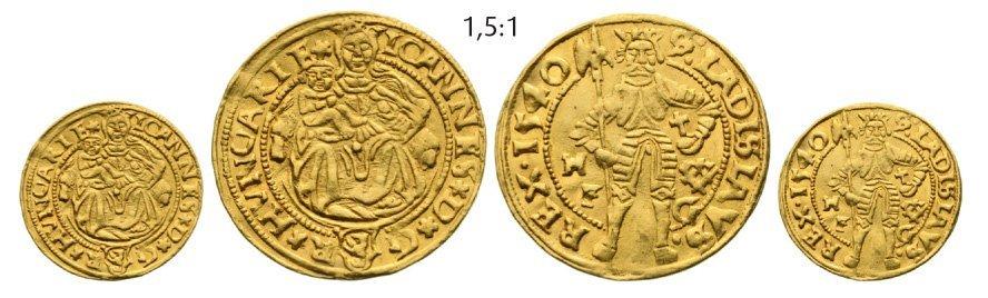 Ducat 1540, Hermannstadt (Sibiu), Gold, 3,48 g