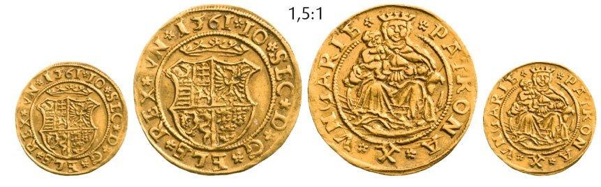 Ducat 1561 NB, Neustadt (Baia Mare), Gold, 3,56 g
