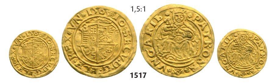 Ducat 1565, Hermannstadt (Sibiu), Gold, 3,50 g