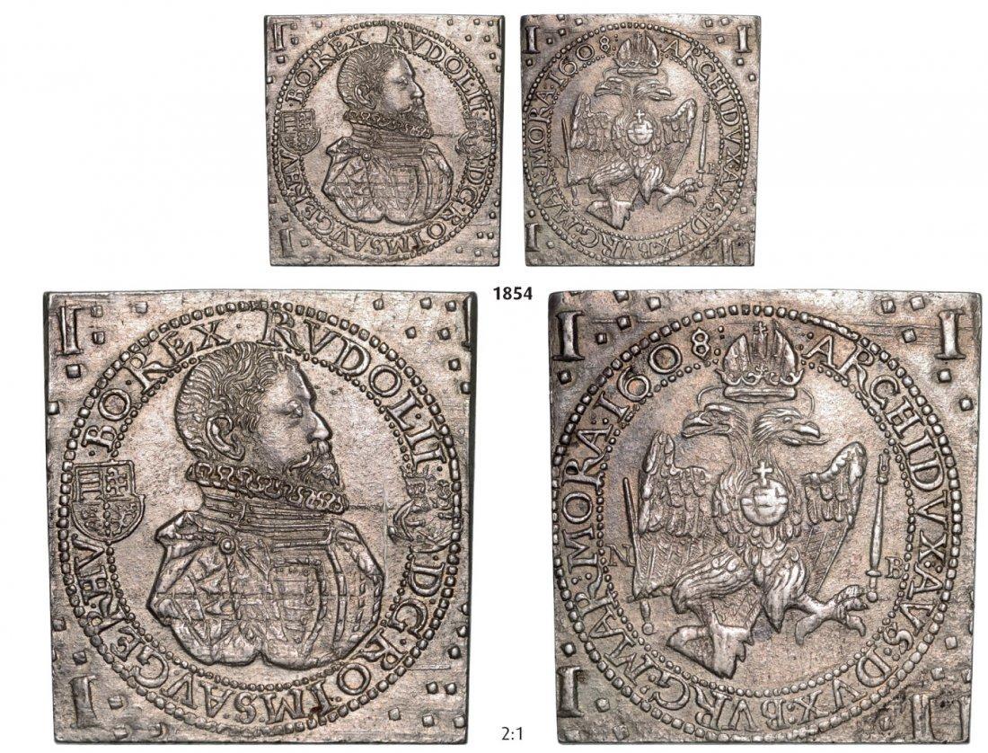 Klippe 1 ½ Taler 1608NB, Neustadt (Baia Mare), Silver,