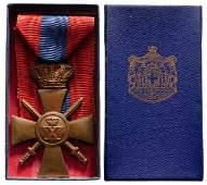 War Cross 1940 3rd Class Type with plain crown