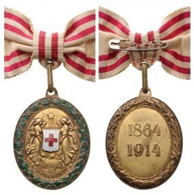 Red Cross, Bronze Medal With War Decoration