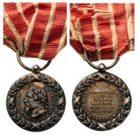Italy Campaign Medal, Signed E.f. (eugene Farochon),