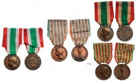 For The Unity Of Italy 1915-18 Medal (2), Unity Of