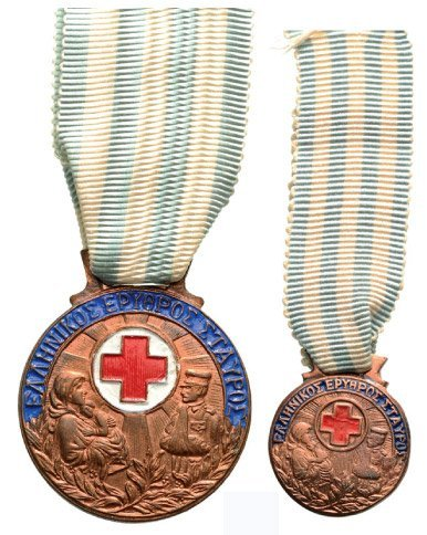 RED CROSS HONORARY DECORATIONS FOR DISTINGUISHED