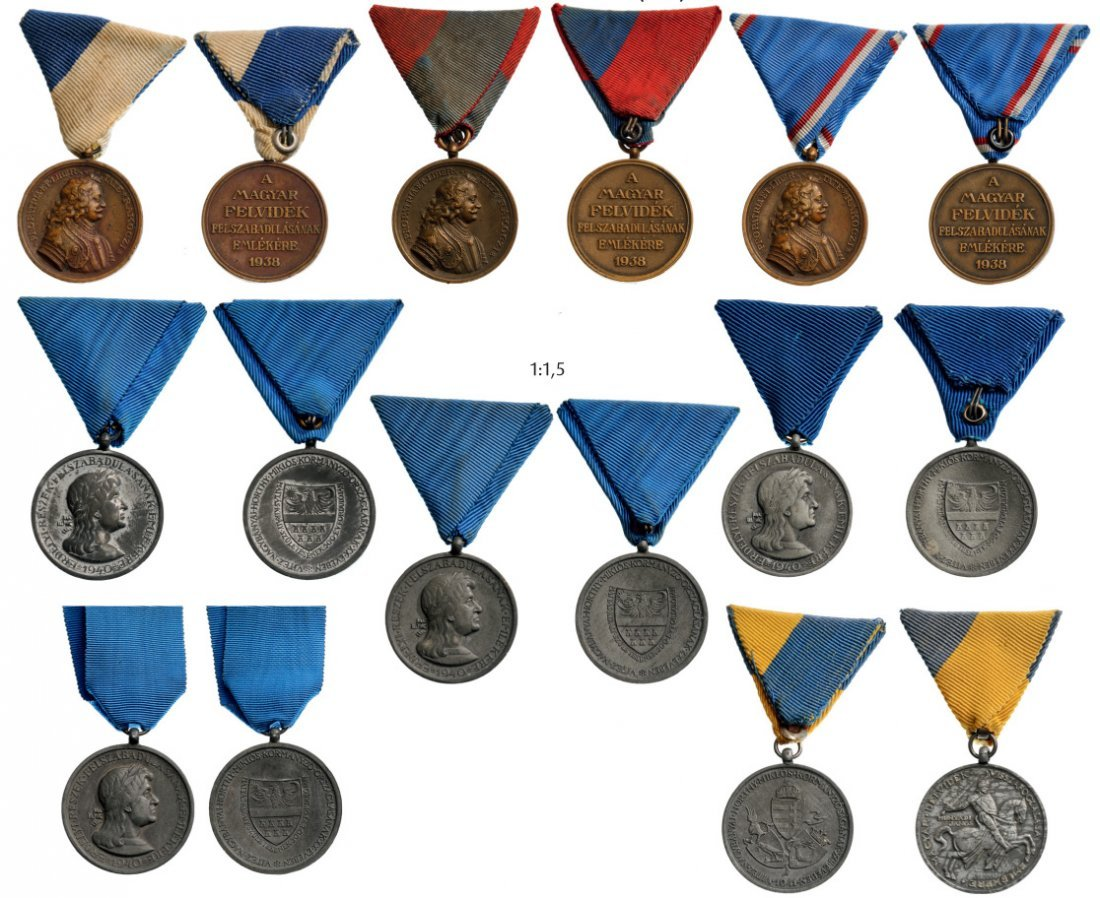 lot of 8 Commemorative Medals