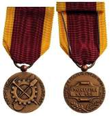 Bronze Medal of Honor for Labour 1st Republic of