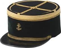 Pharmacist navy major (commandant) coat and kepi post