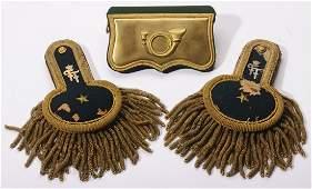 Hunter Major parade shoulderboards 1st Hunter Regiment