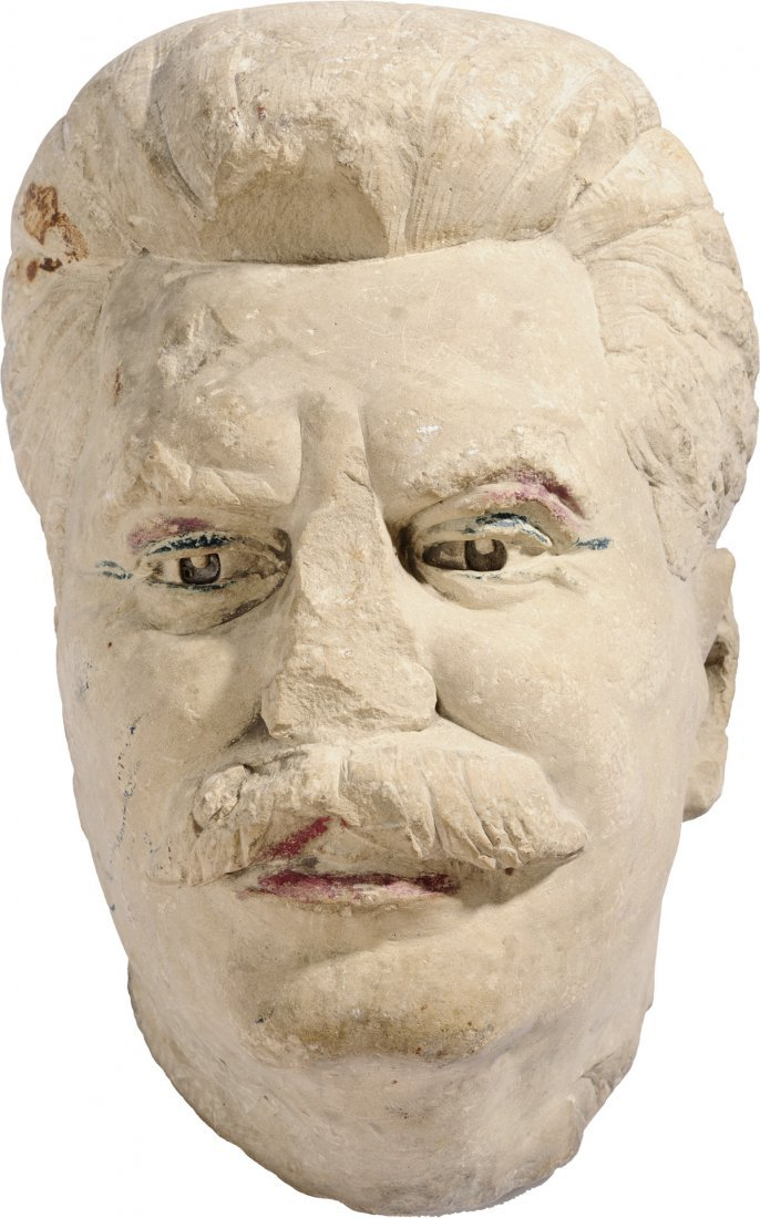 Stalin head 1st part of 20th Century