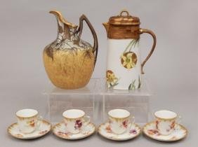 Grouping Of Hand Painted Porcelain