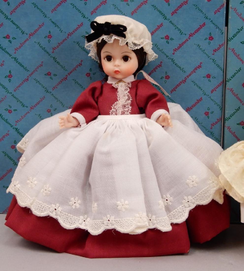 Six Madame Alexander Little Women dolls in boxes - 2