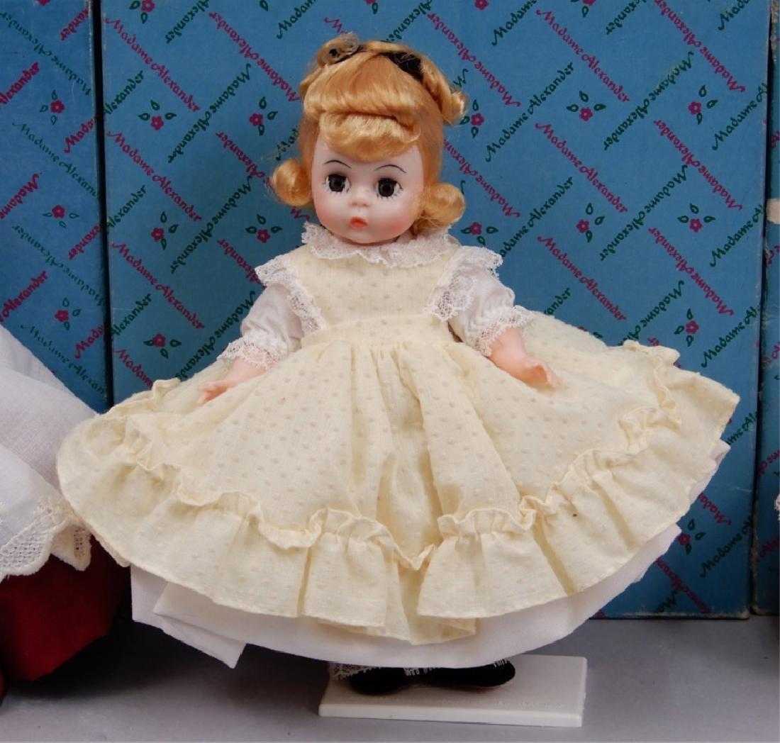 Six Madame Alexander Little Women dolls in boxes - 3