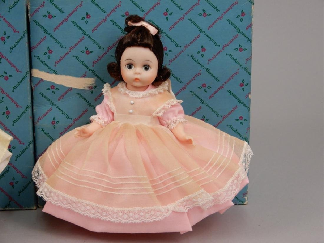 Six Madame Alexander Little Women dolls in boxes - 4