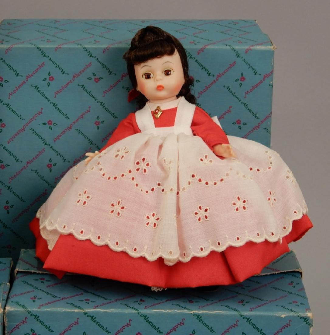 Six Madame Alexander Little Women dolls in boxes - 5