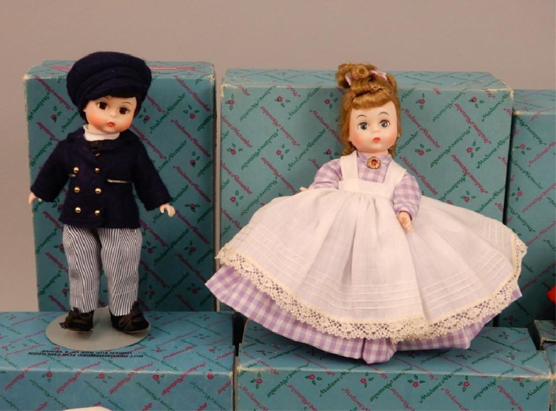 Six Madame Alexander Little Women dolls in boxes - 6