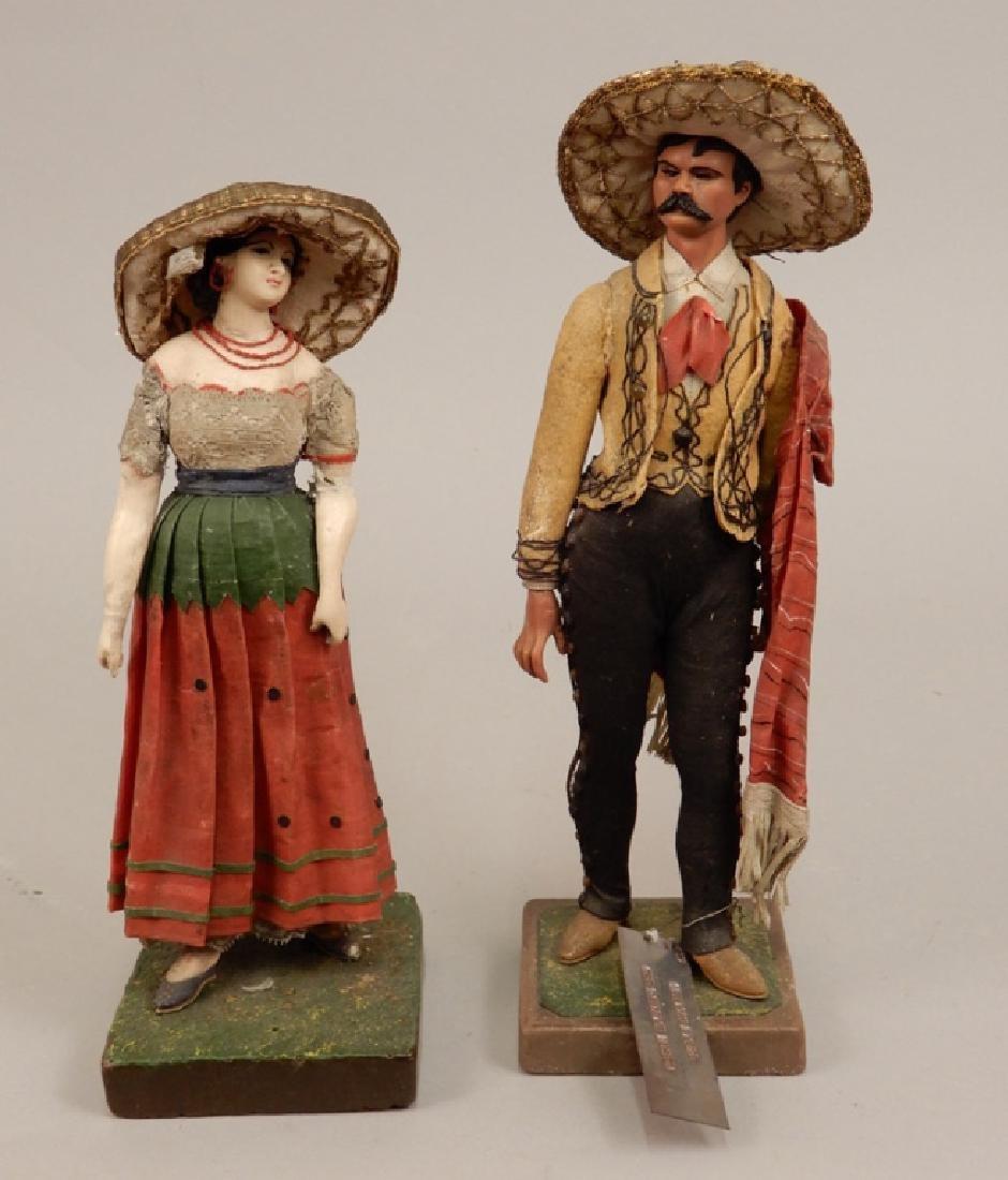Two WPA dolls