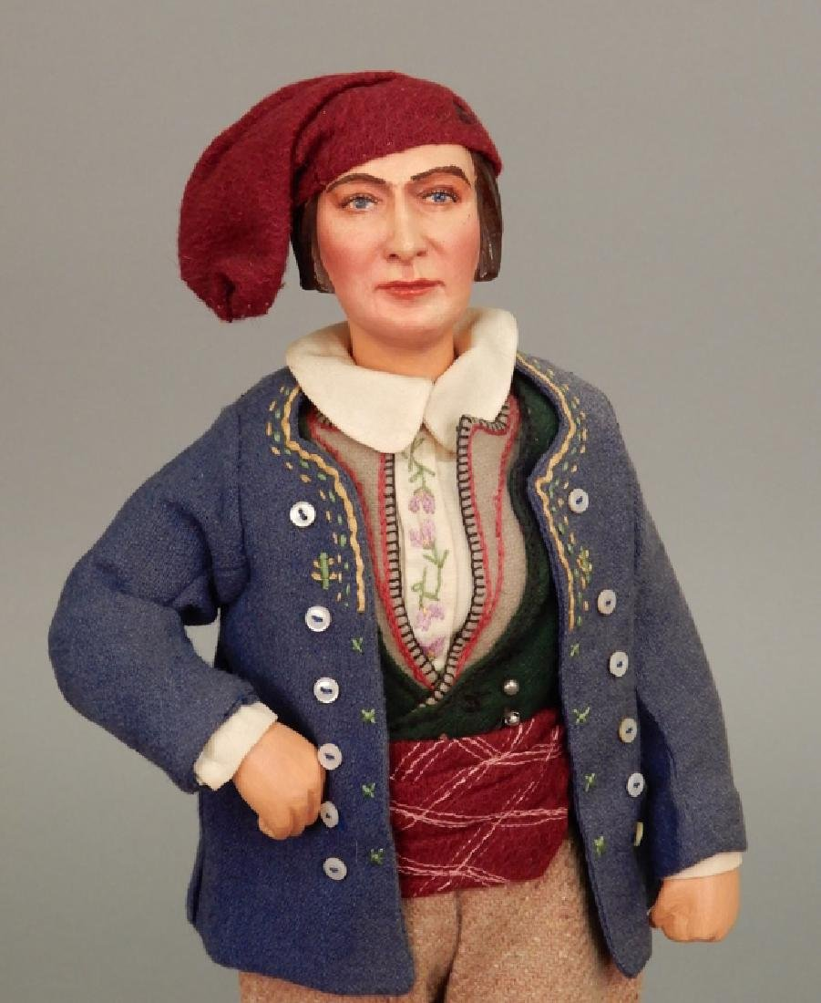WPA doll Brittany France Fisherman - 2