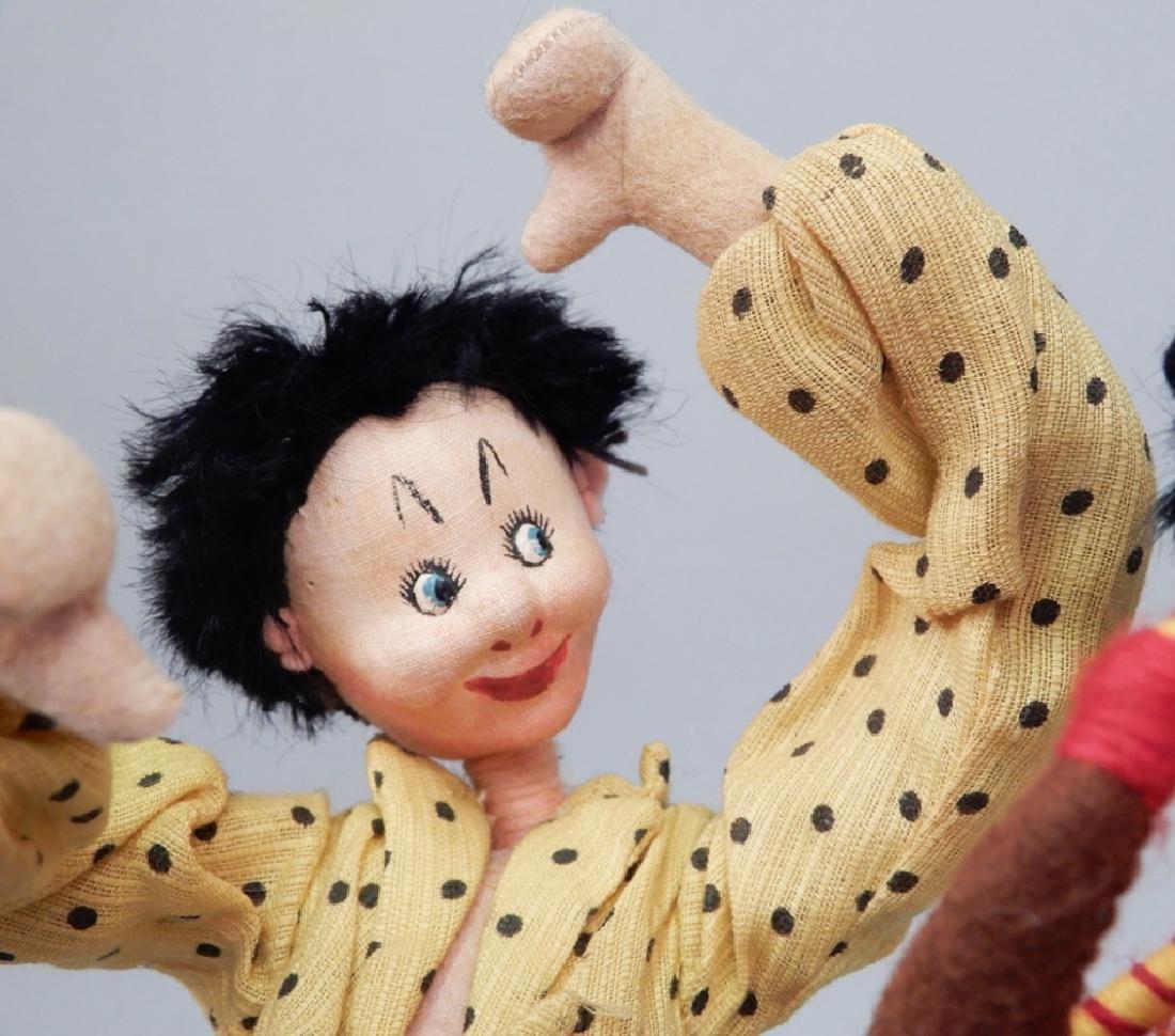 Two Klumpe dolls - 4