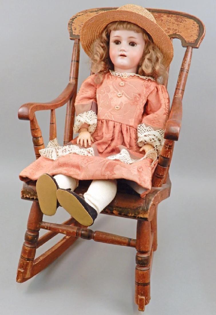 Heinrich Handwerck Simon & Halbig bisque head doll