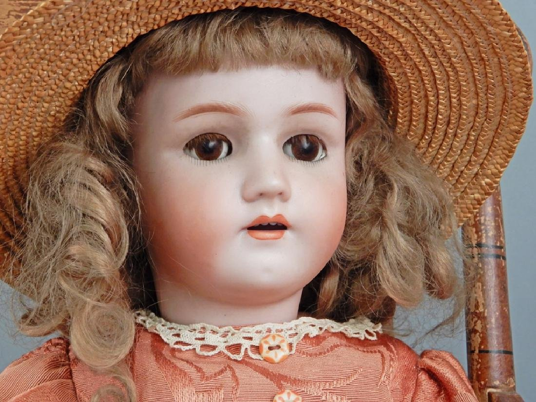 Heinrich Handwerck Simon & Halbig bisque head doll - 2