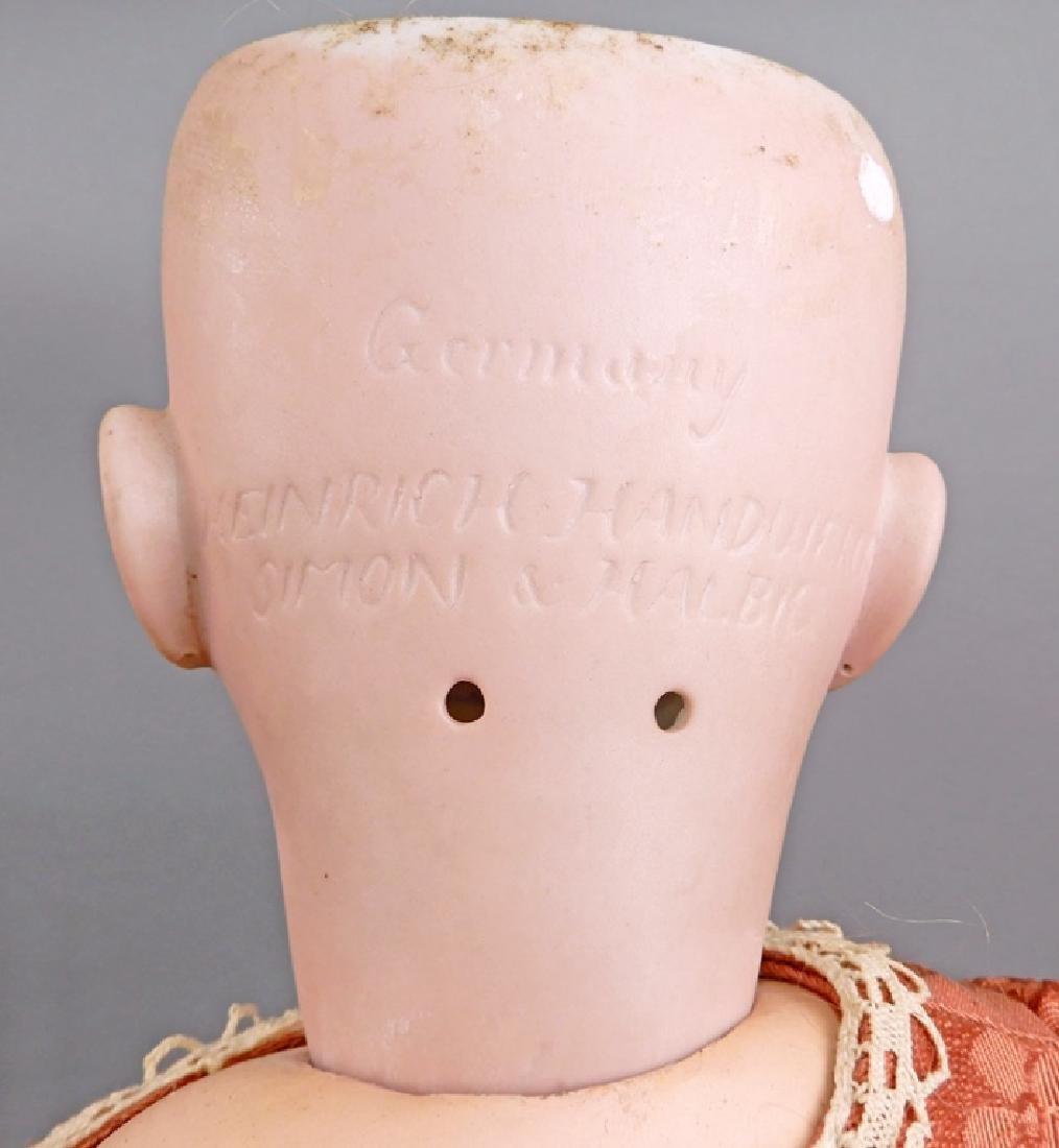 Heinrich Handwerck Simon & Halbig bisque head doll - 5