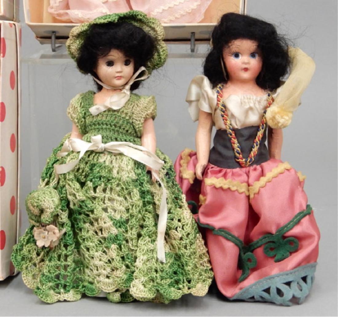 Nancy Ann Storybook doll grouping - 2