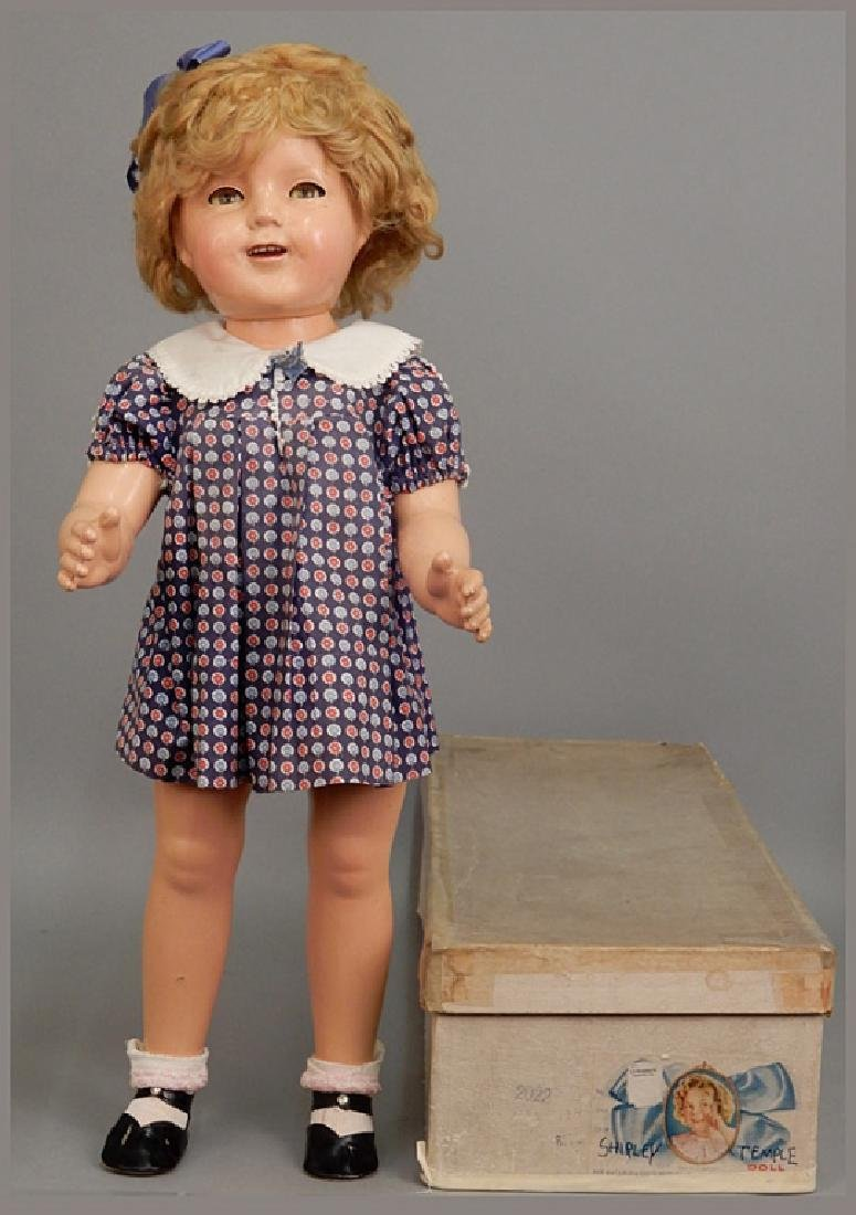 1930's Ideal composition Shirley Temple in original box