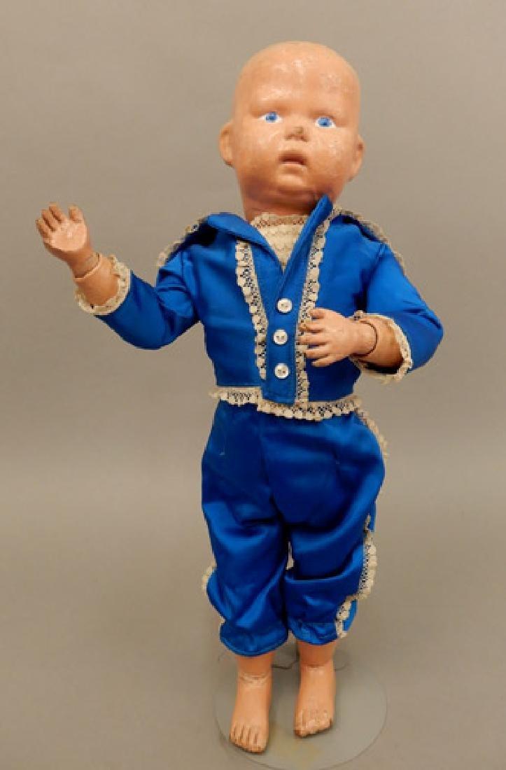 Early 1900's Schoenhut boy doll