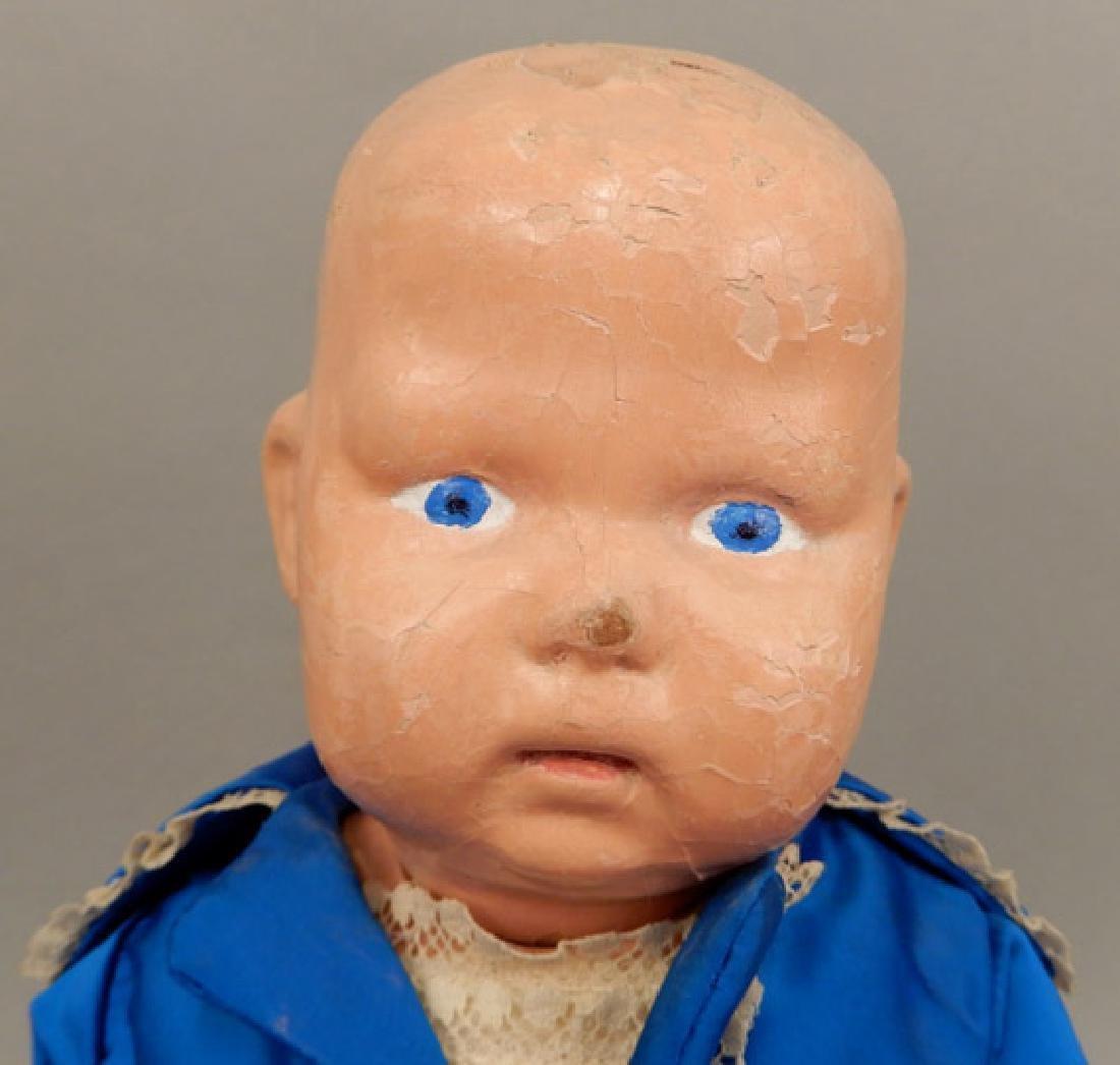 Early 1900's Schoenhut boy doll - 2