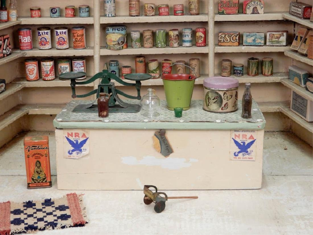 1930's American Country Store room box - 2
