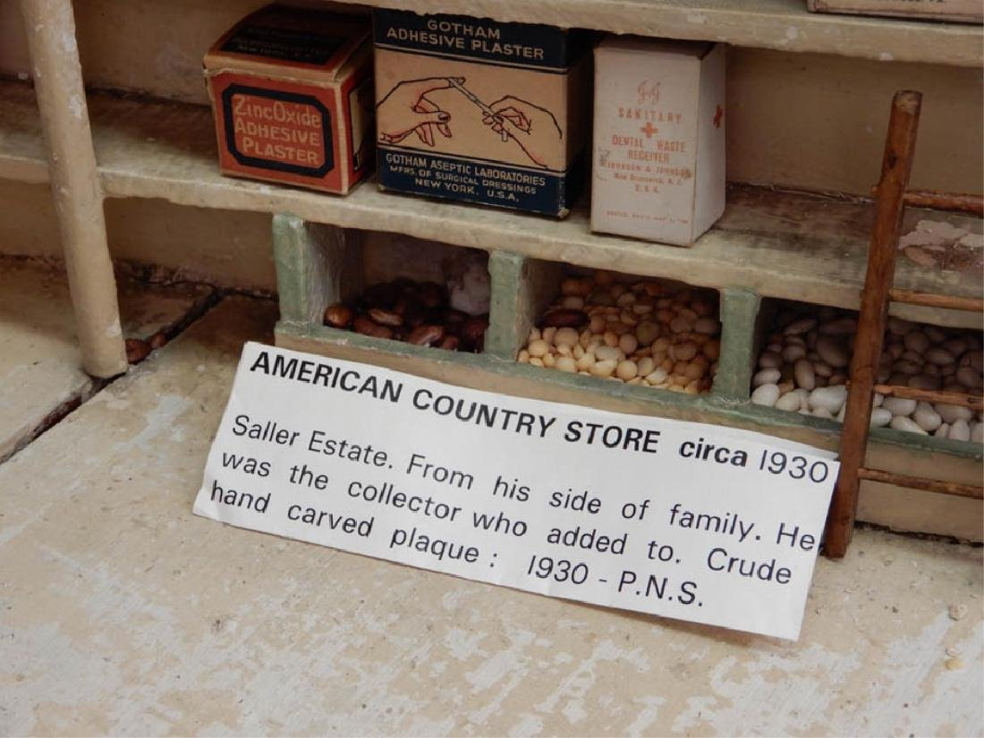 1930's American Country Store room box - 4