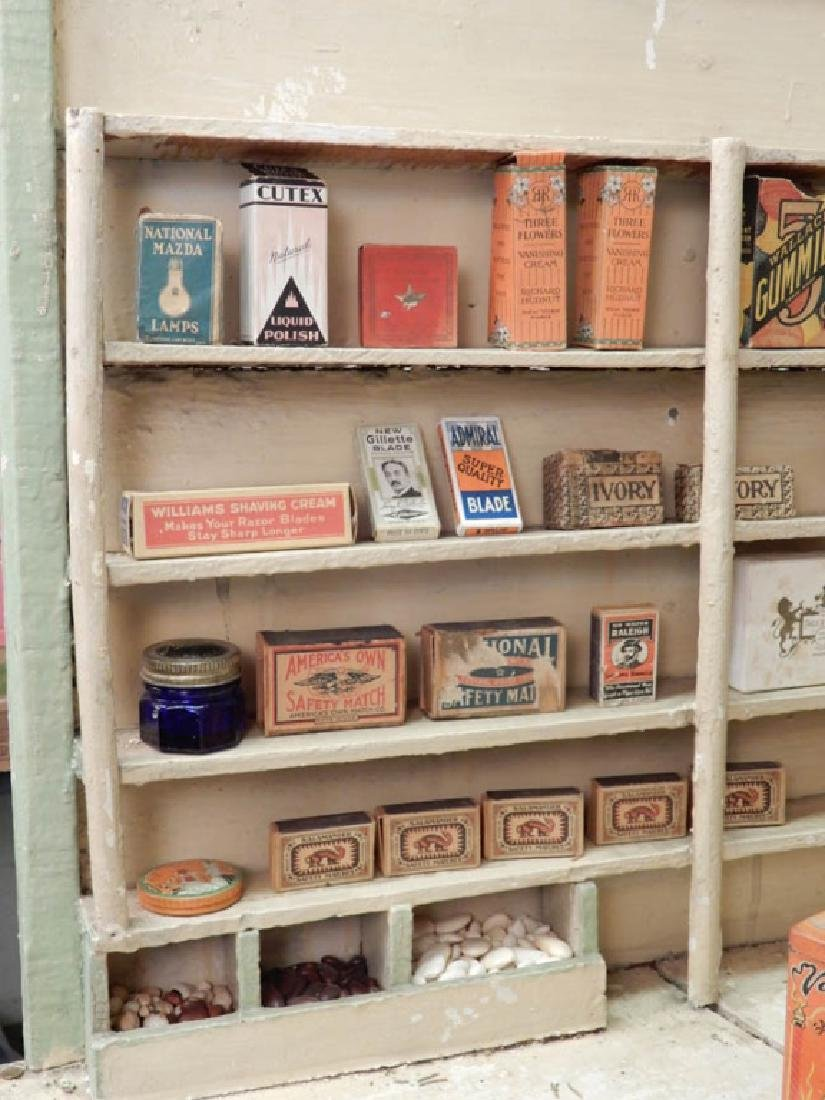 1930's American Country Store room box - 7