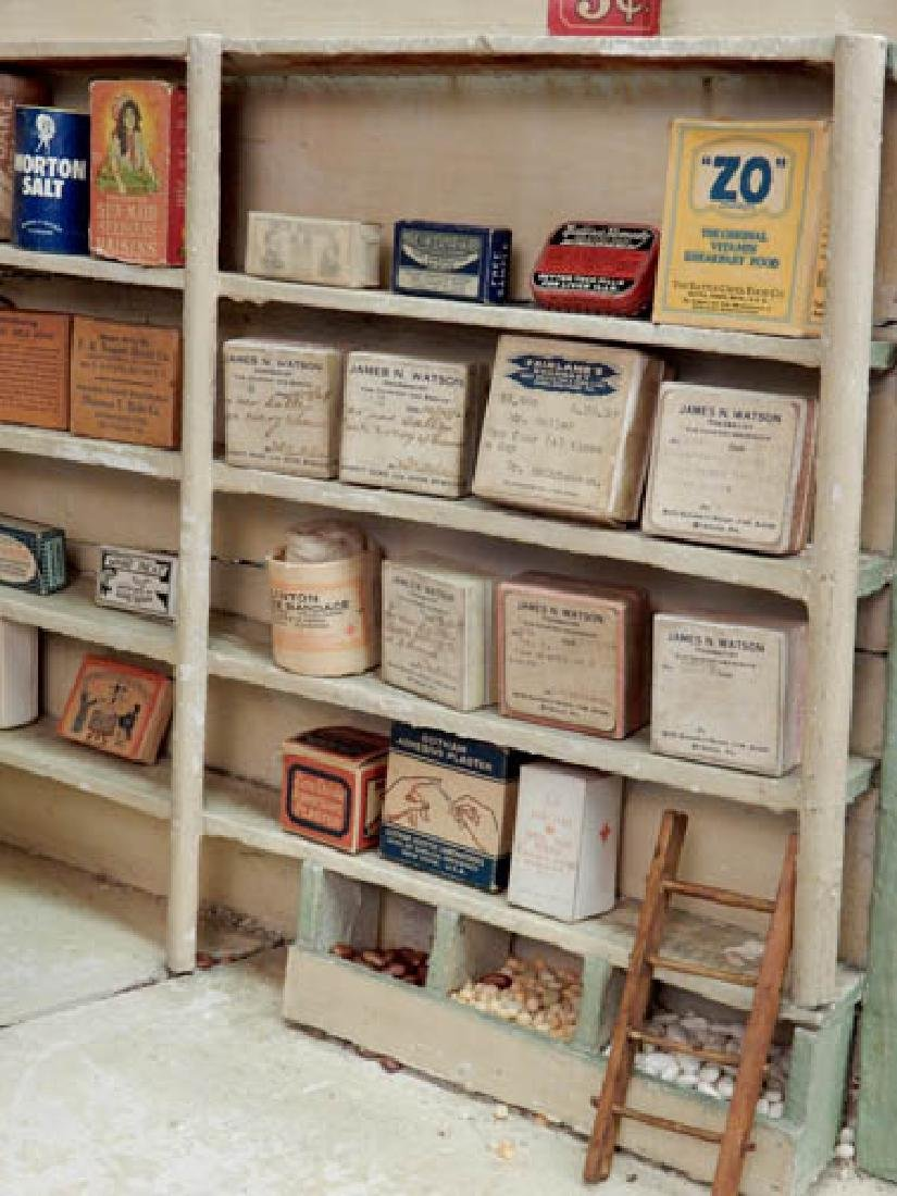 1930's American Country Store room box - 8