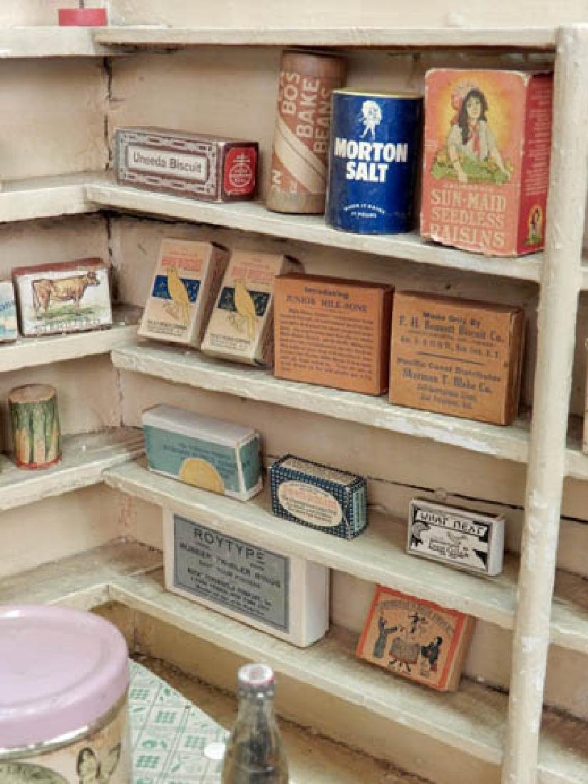1930's American Country Store room box - 9