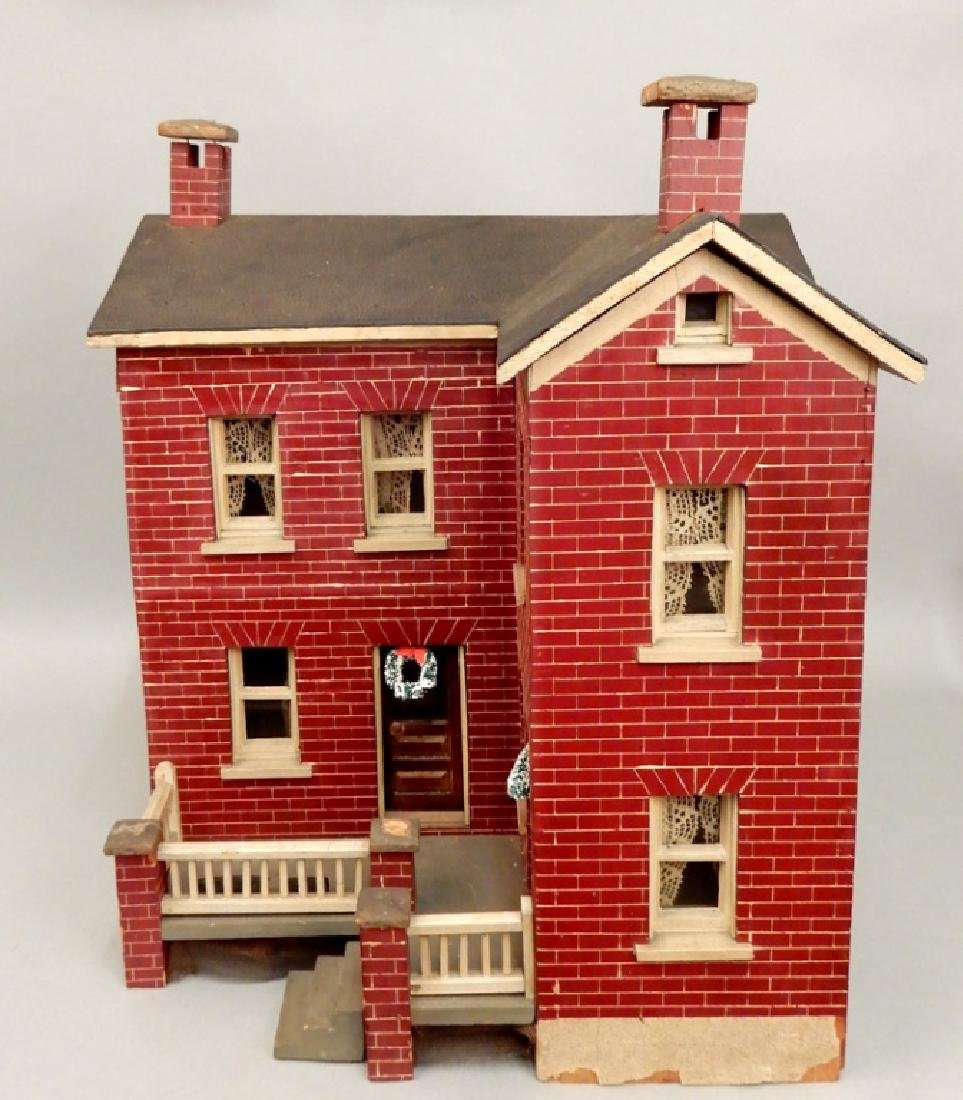 Large doll house ca. 1916