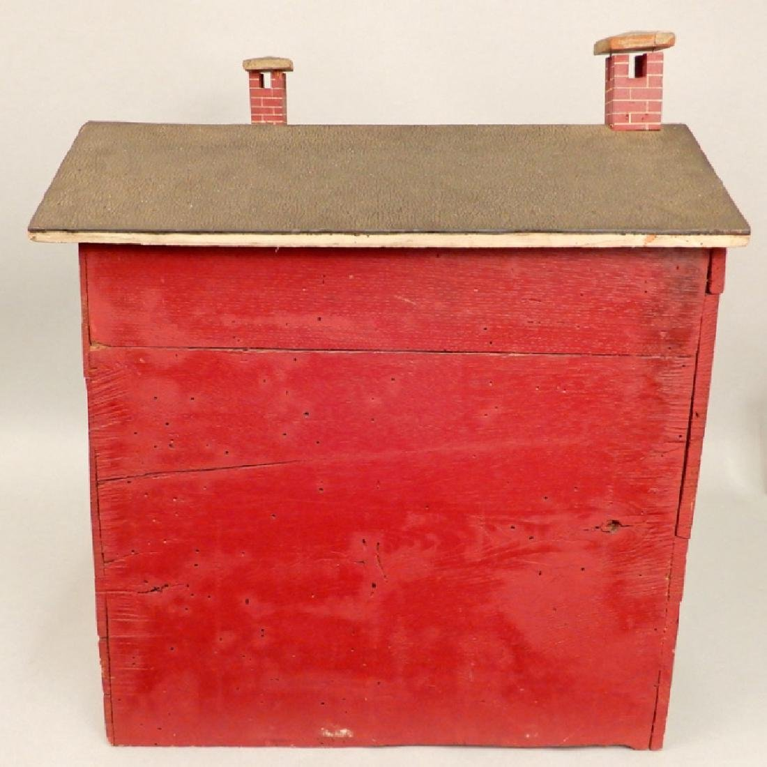 Large doll house ca. 1916 - 4