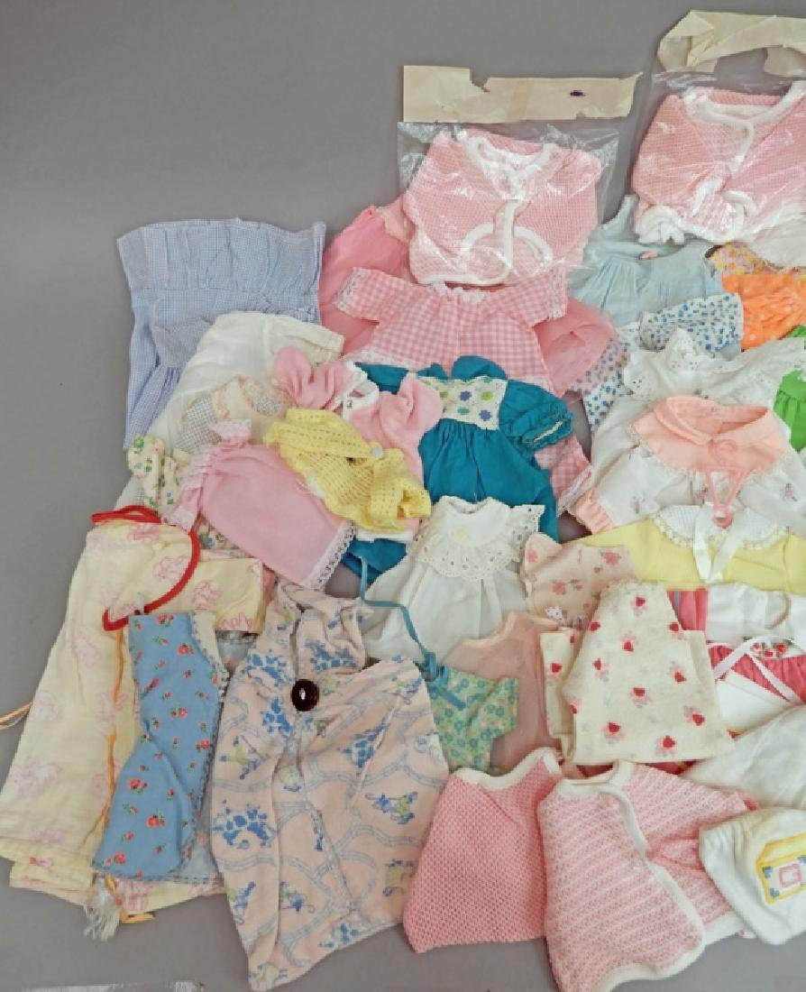 Large grouping of doll clothes - 3