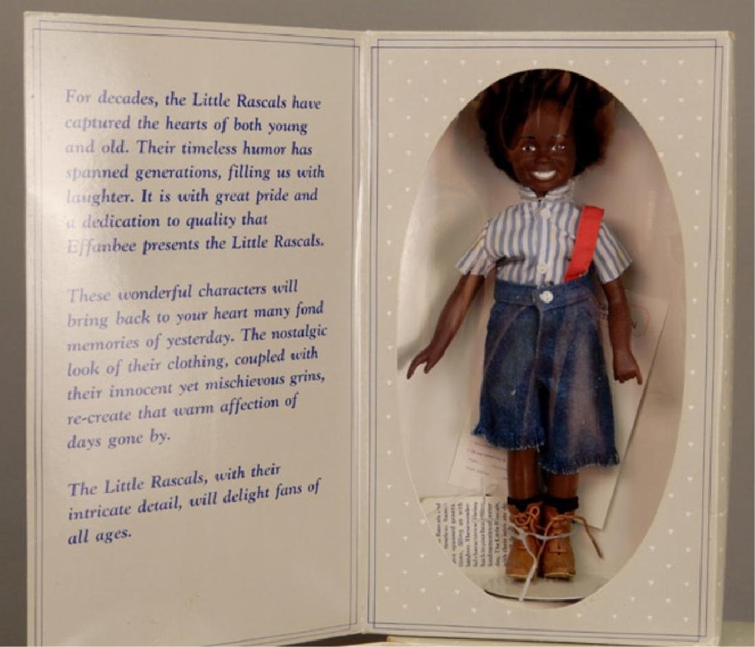 Four Effanbee Little Rascals dolls in original boxes - 2