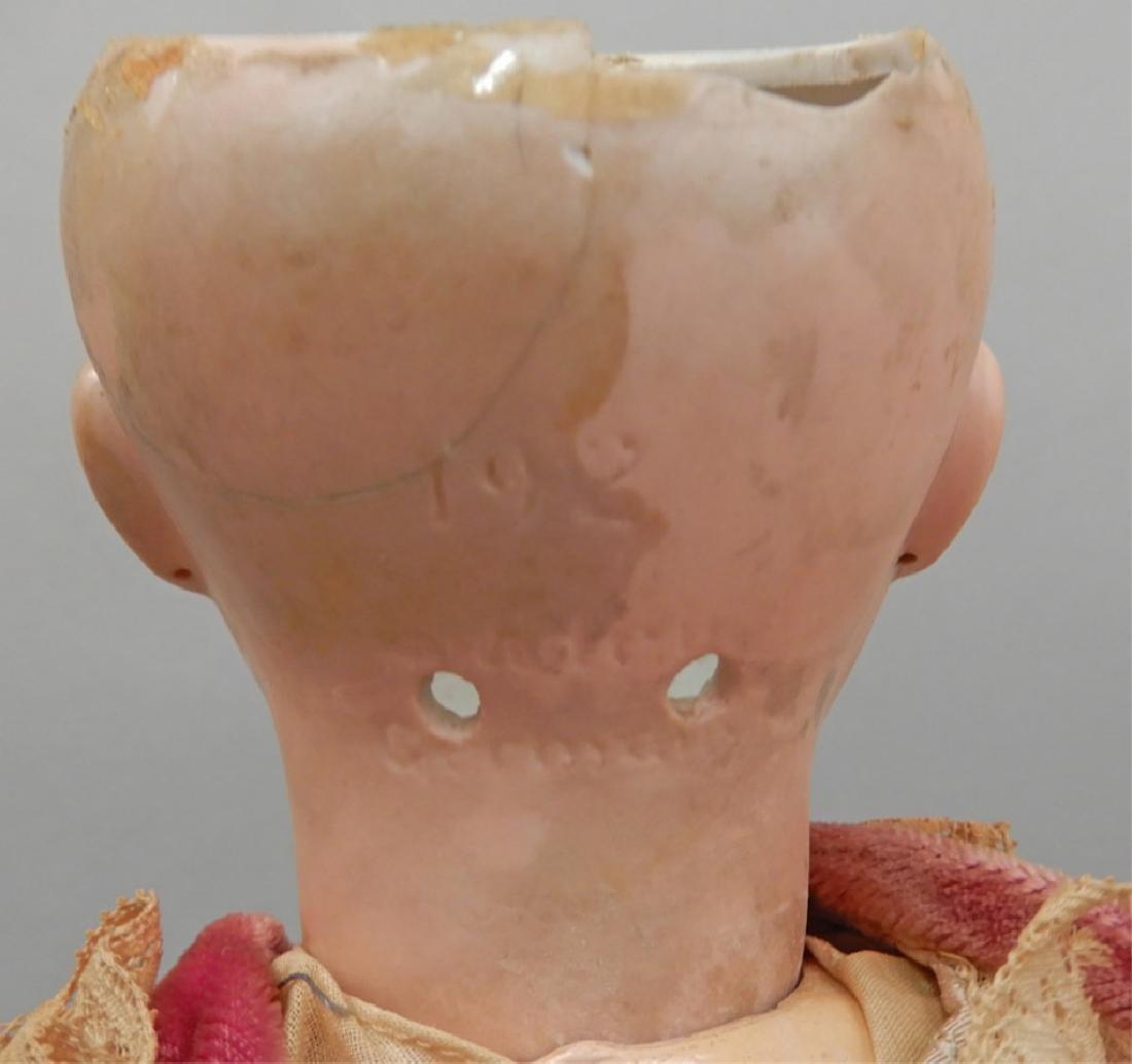JD Kestner 192 bisque head doll - 4
