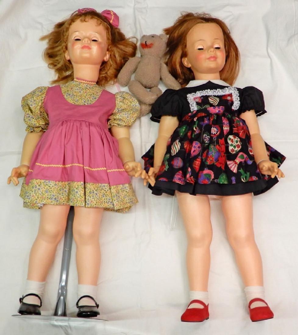 Two Patti Playpal dolls