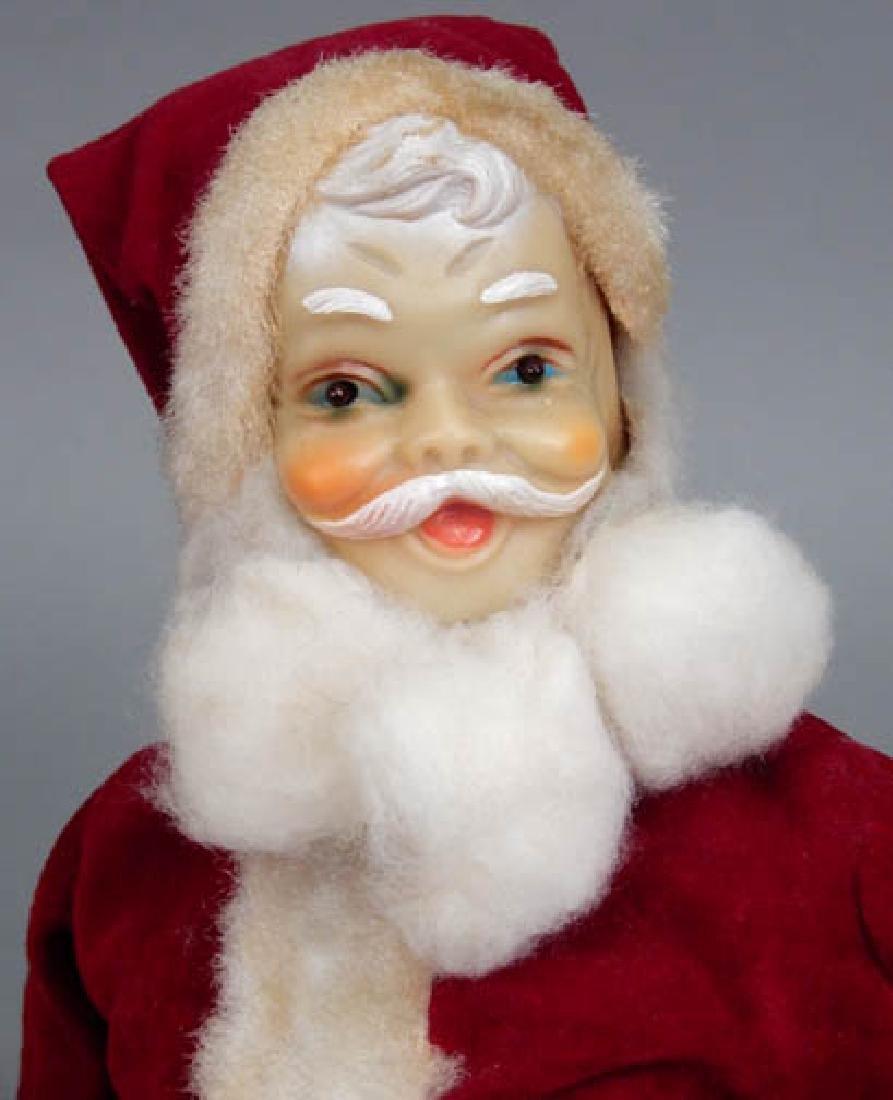 Two vintage Santa decorations - 5