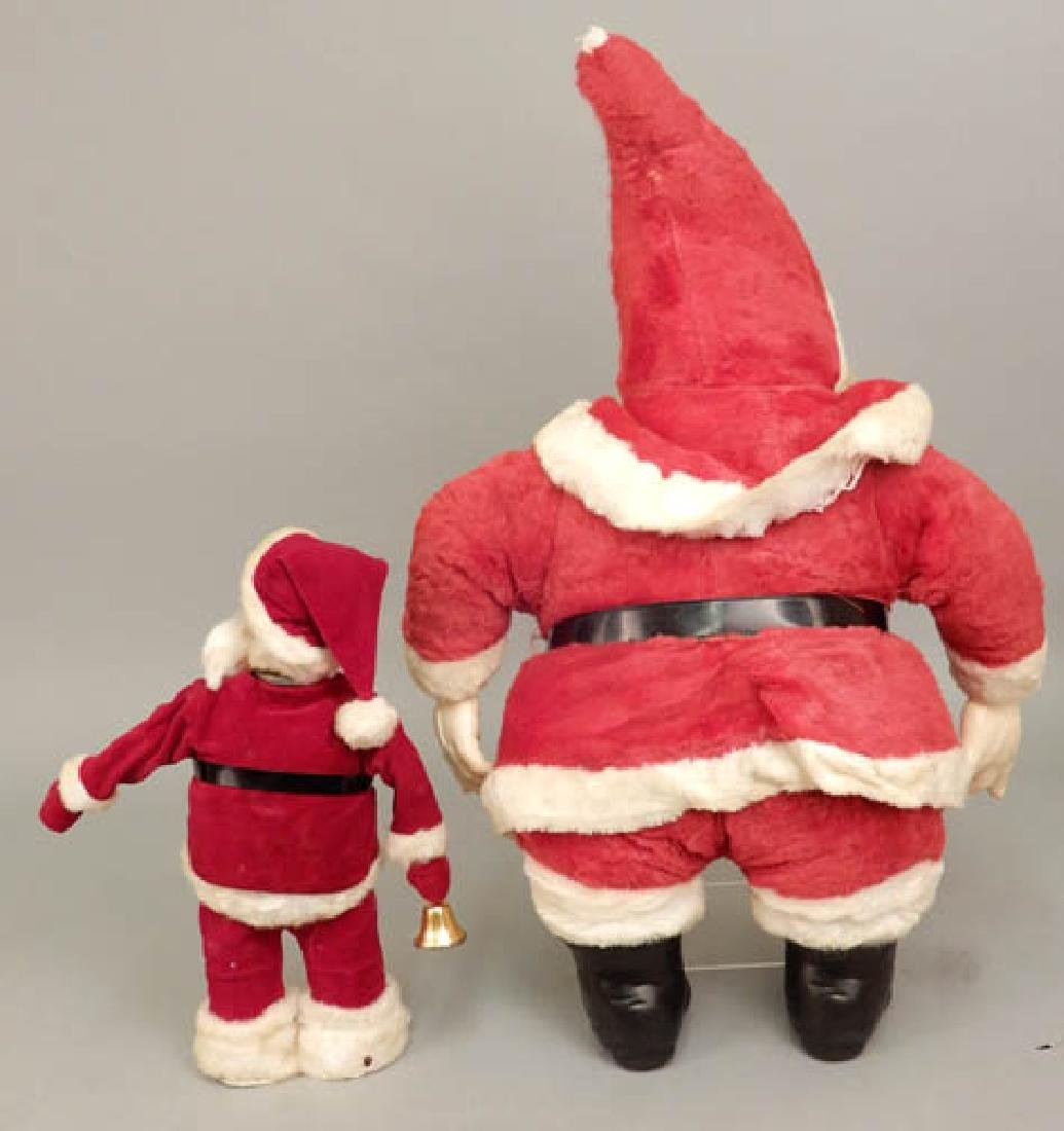 Two vintage Santa decorations - 6