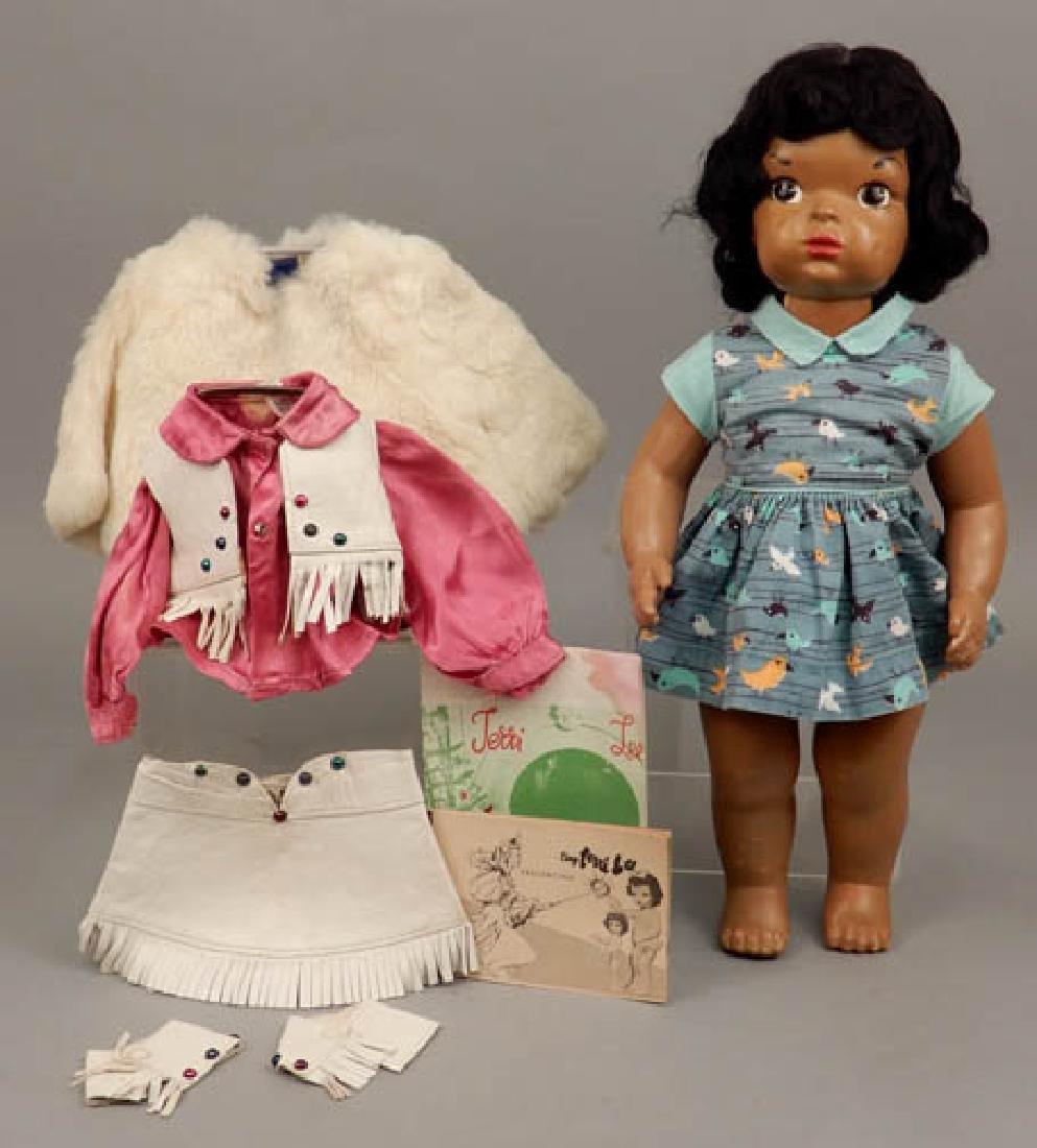 1940's-50's Black Terri Lee doll