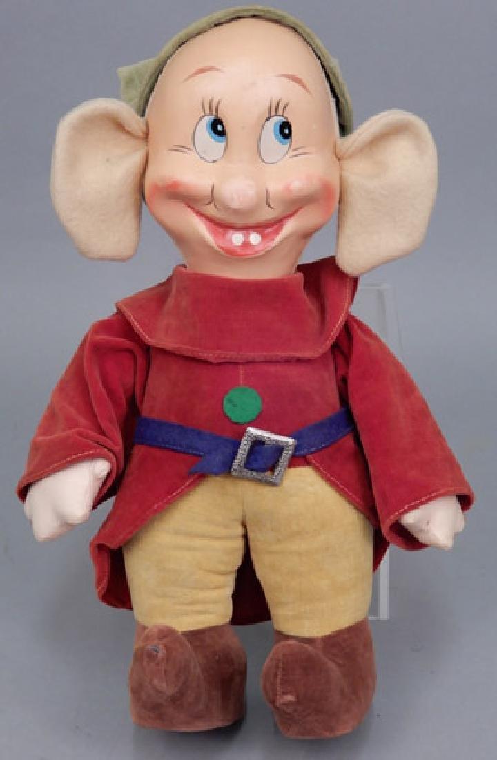 1930's-40's Walt Disney cloth Dopey