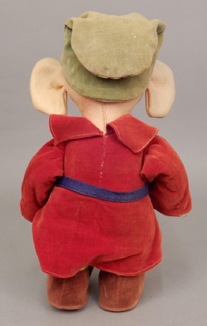 1930's-40's Walt Disney cloth Dopey - 4