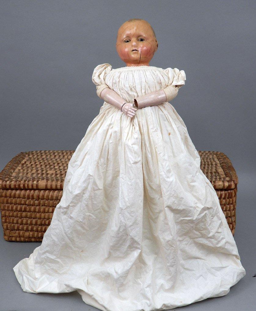 Motschmann Taufling wax doll