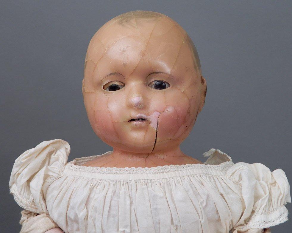 Motschmann Taufling wax doll - 2