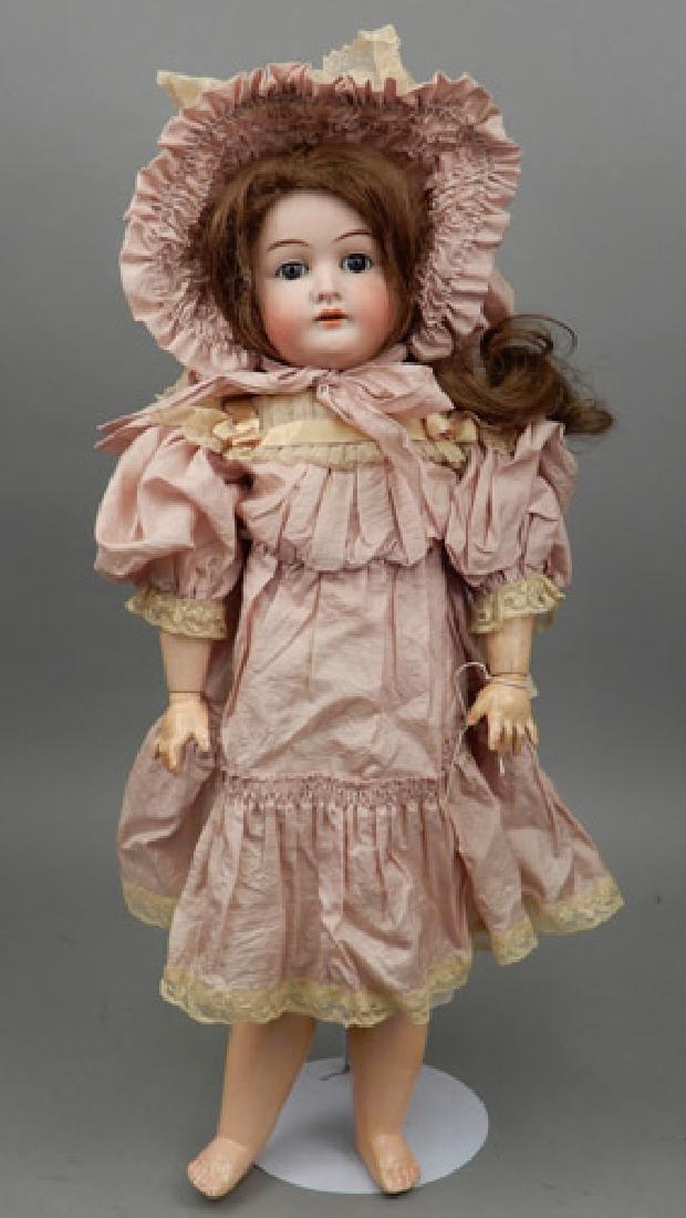 Karl Hartmann bisque head doll